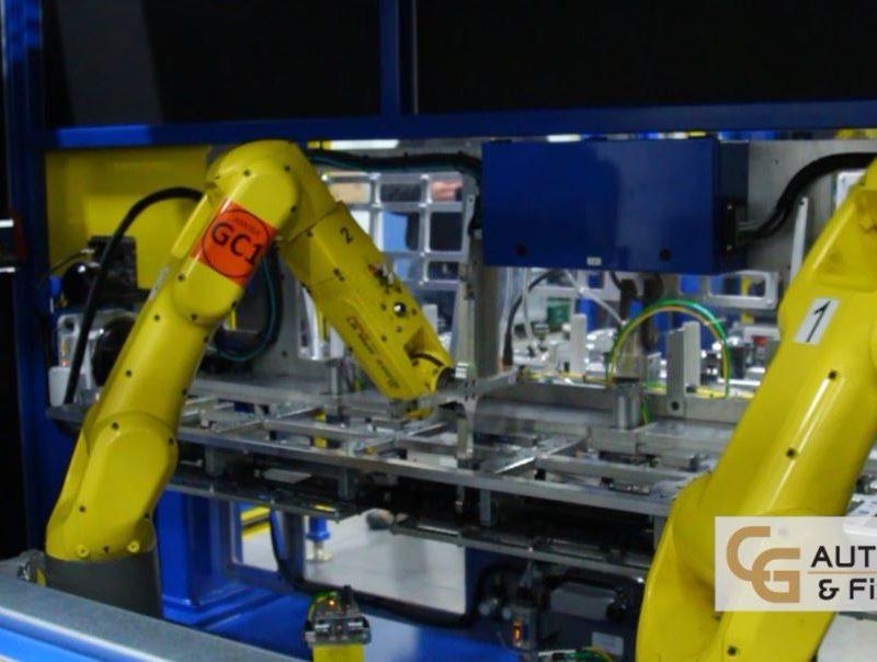 Robotic Rocker Clip Installation