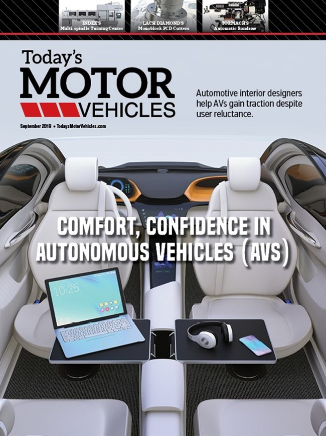 Mold Today's Motor Vehicles September 2019